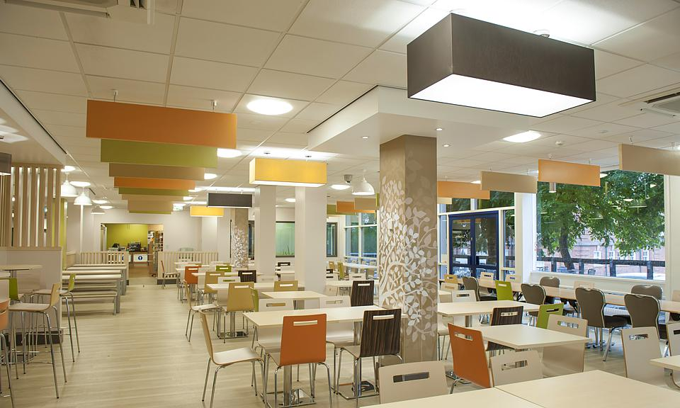 Image of Leeds Beckett University, Food Court