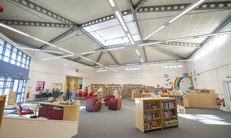 Image of Airedale Library, Castleford installation
