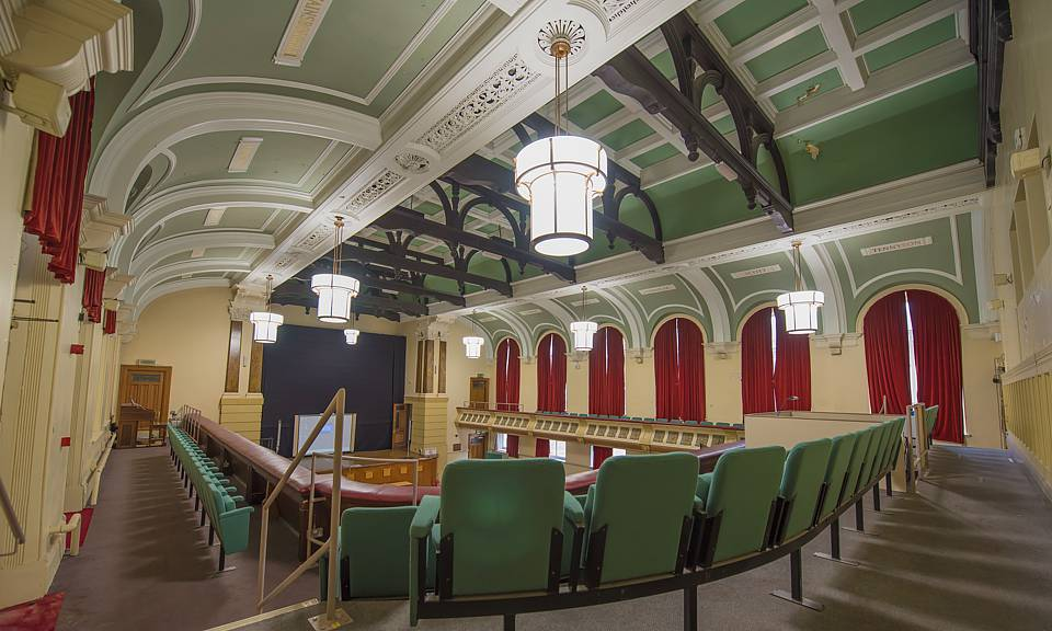 Image of Birkenhead Town Hall Council Chambers