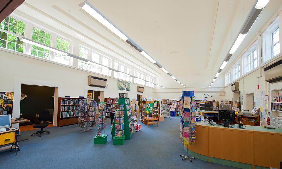 Image of Buxton Library, Derbyshire installation