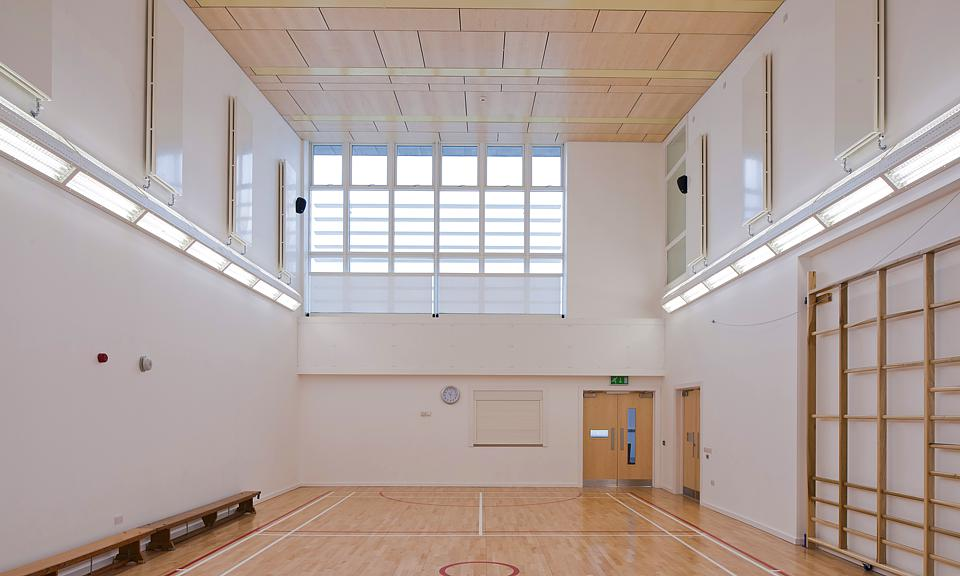 Image of Colmonell Primary School, Sports Hall, South Ayrshire installation