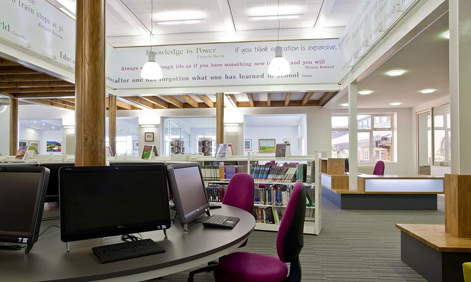 Image of Franklin College, Library, Grimsby installation