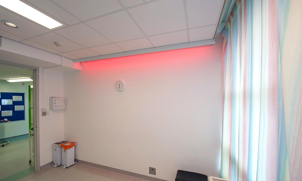 Image of Hull Royal Infirmary, Dementia Lighting Research