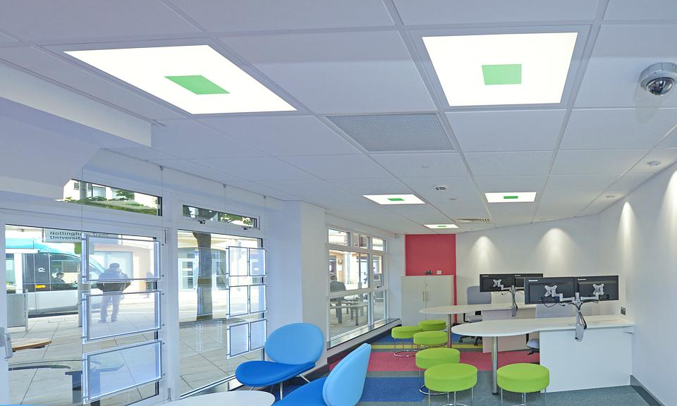 Image of Nottingham Trent University, Chaucer Letting Agency installation