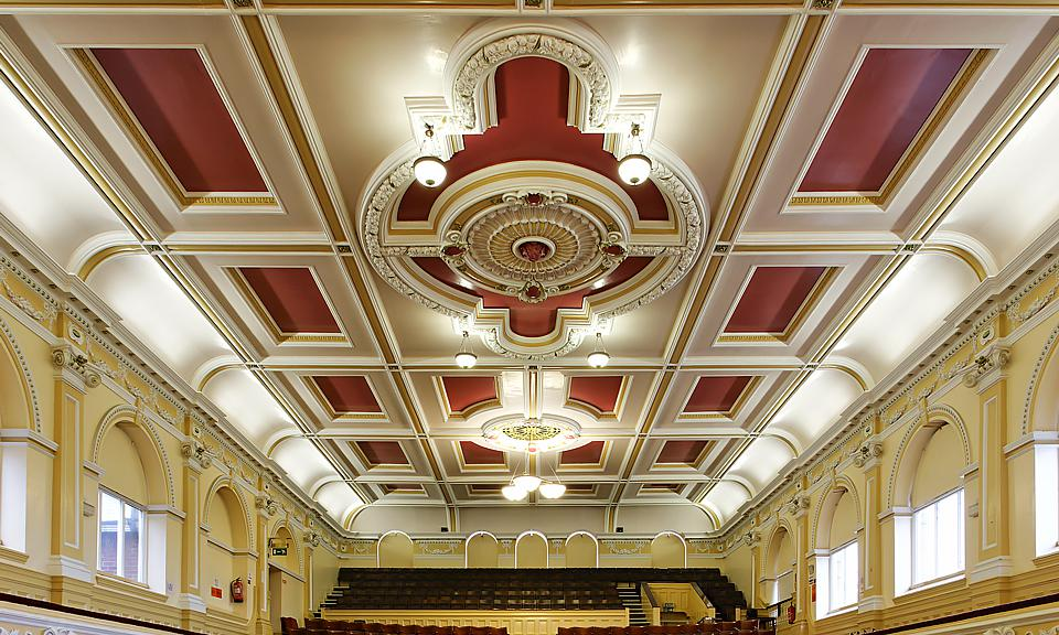 Image of Ossett Town Hall installation