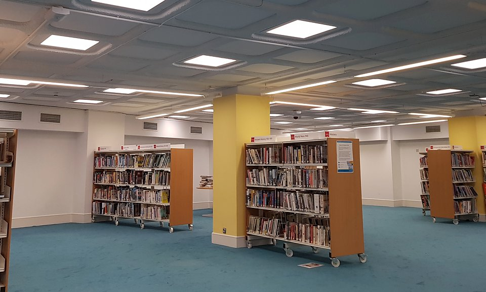 Image of Redditch Library installation