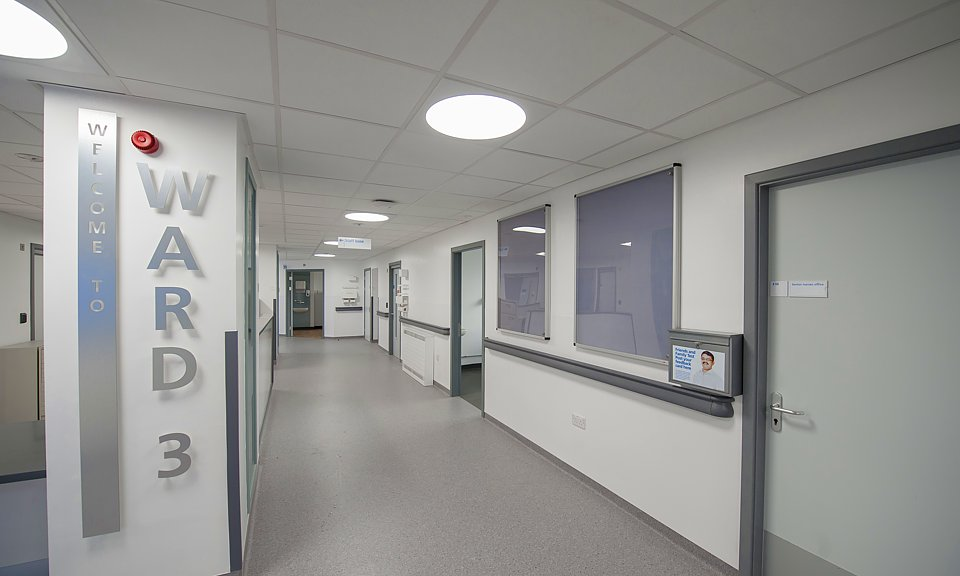 Image of Weston Park Hospital, Ward 3, Sheffield